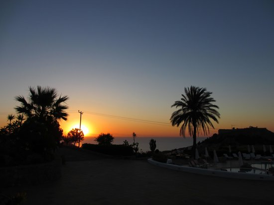 Krana Apartments : Sunrise from our patio