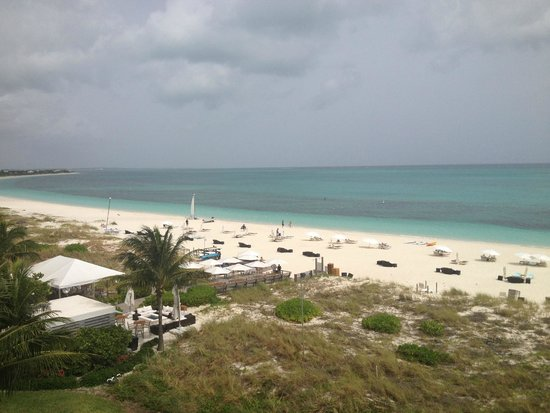 Gansevoort Turks + Caicos: View from the patio of our room