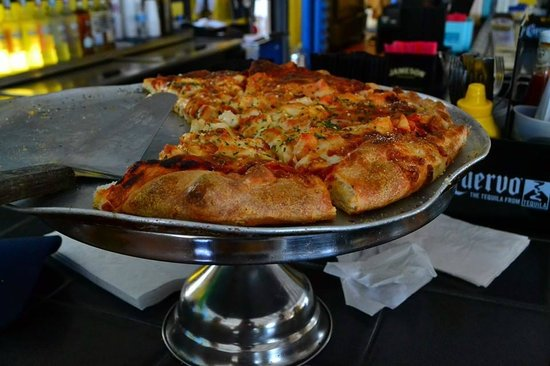 You Are Here: great pizza!