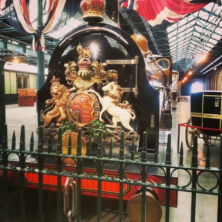 National Railway Museum: The station hall