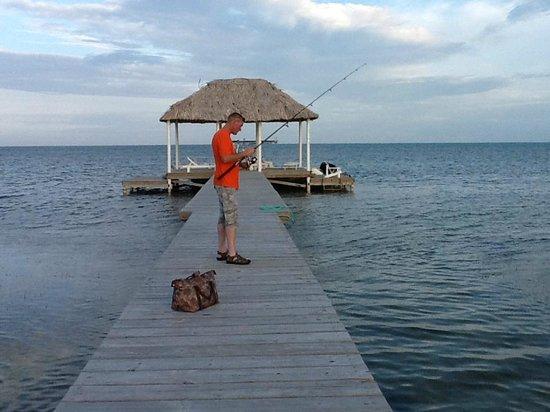 Hol Chan Reef Villas: fishing
