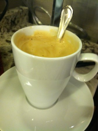 The Langham, Chicago: Product of the Nespresso machine