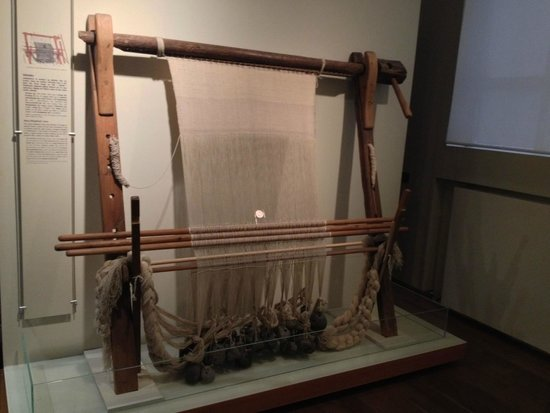 Isländisches Nationalmuseum: the earliest Icelandic export - woven wool cloth