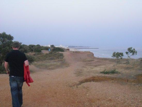 Adriana Beach Club Hotel Resort: clifftop walk