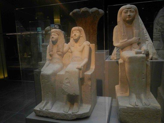 Musée égyptologique de Turin : Pendua and wife Nefertari