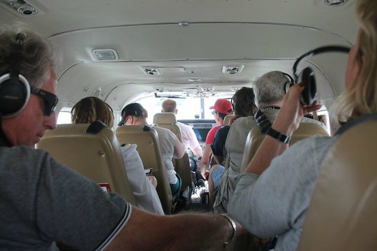 Grand Canyon Scenic Airlines: Everybody has a window seat
