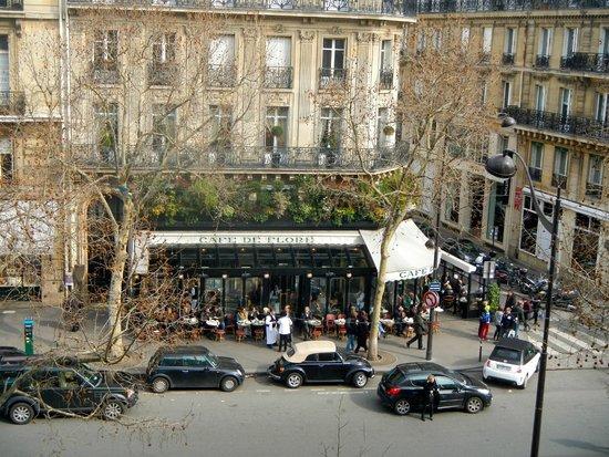 Au Manoir Saint Germain De Pres : View from our window
