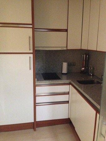 Apartamentos Guadalpin Boutique: Cocina