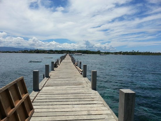 Pacific Cebu Resort: From the end of a very long pier