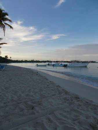 Dreams La Romana : beach early morning