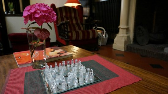 Hotel Morand: Гостиная