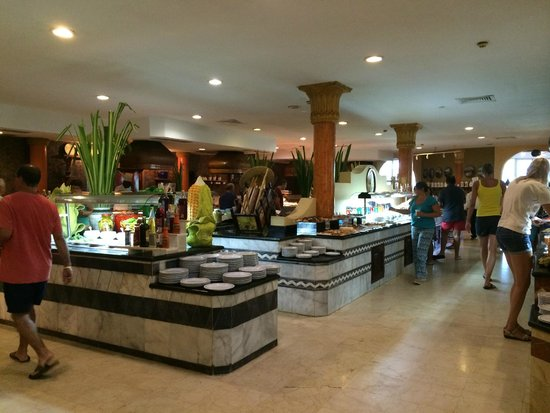 Iberostar Varadero : In the buffet restaurant