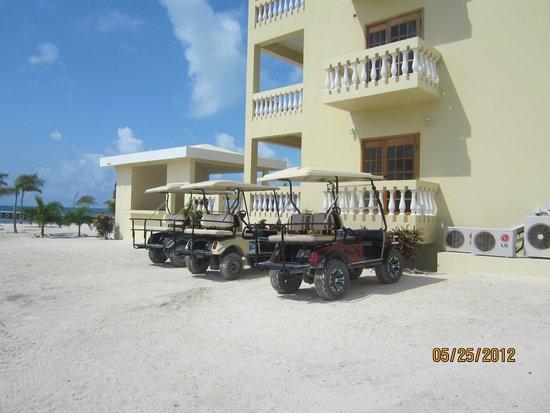 Hol Chan Reef Villas: our transportation