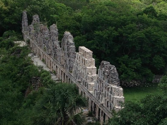 Temples d'Uxmal : Amazing temple view