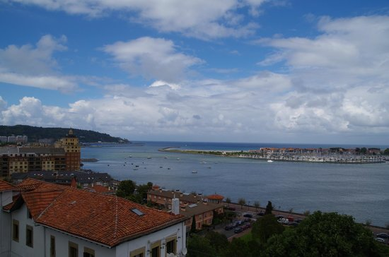 Parador de Hondarribia : view from the room