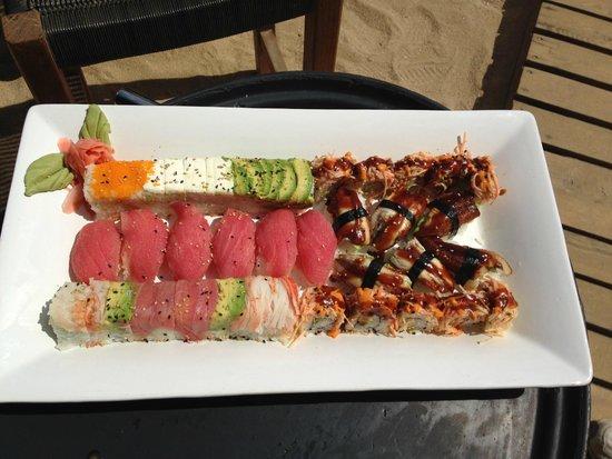 Baja Cantina Beach Club: Our Sushi
