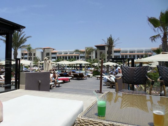 Hotel Riu Palace Tikida Agadir: Pool side
