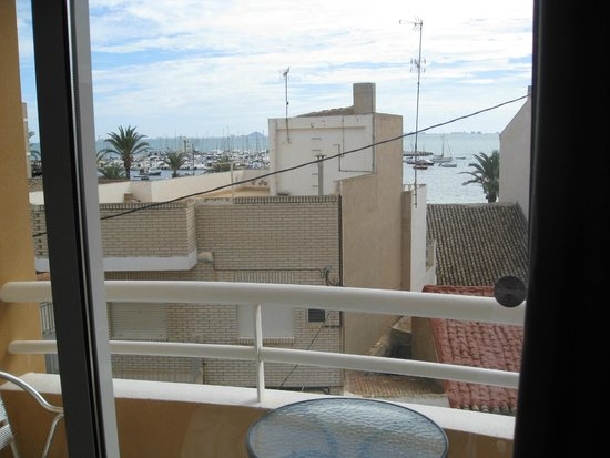 Hotel Cristina: Балкончик
