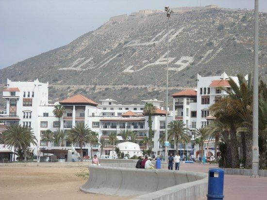 Hotel Riu Palace Tikida Agadir: From the beach
