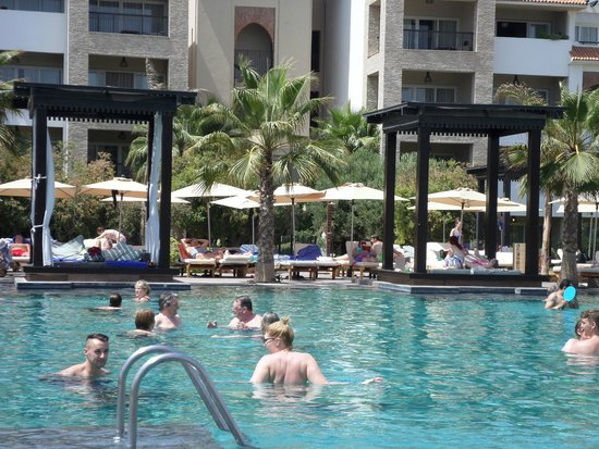 Hotel Riu Palace Tikida Agadir: Pool side