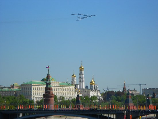 Russian Tour Guide, LLC- Day Tours: Victory Day over the Kremlin and Red Square