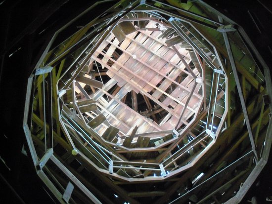 Longwood : Looking up into the cupola