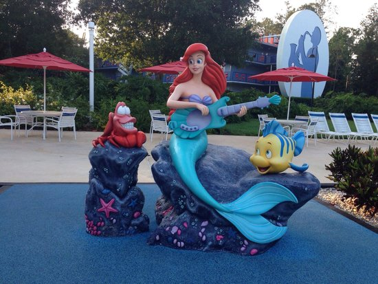 little mermaid by the piano pool smaller pool at all star music rh tripadvisor co nz  does disney all star music resort have a hot tub