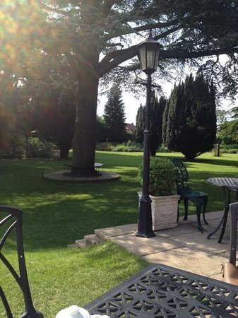 Parsonage Hotel & Spa: relaxing grounds
