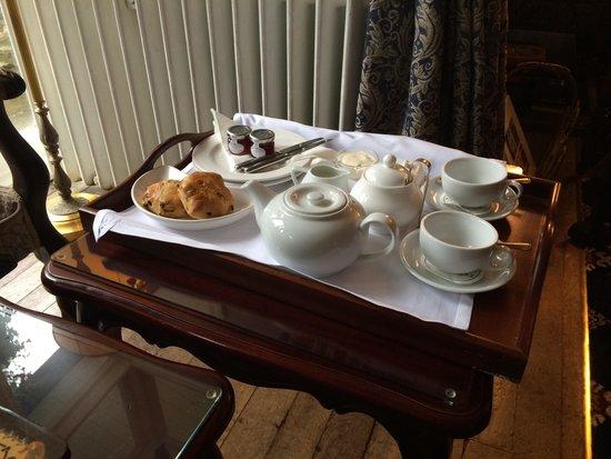 Plas Dinas Country House: Tea ad Scones