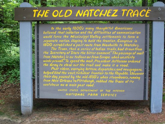 Natchez Trace Parkway: History of the Trace