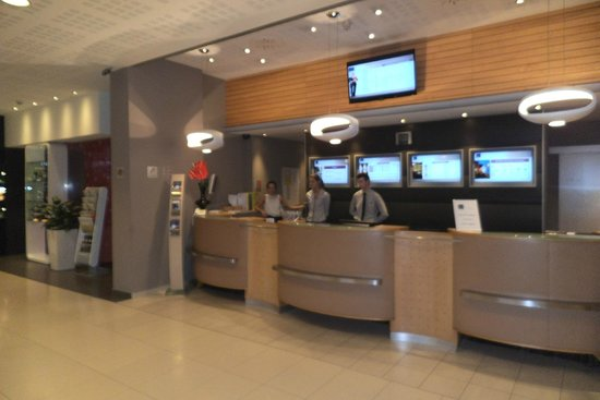 Novotel Budapest City: Reception