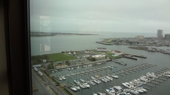 Golden Nugget: View of the marina from the livingroom window