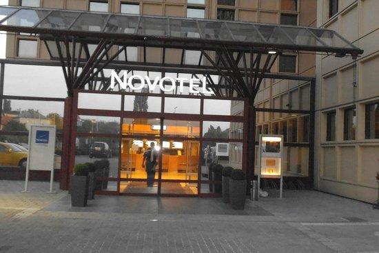 Novotel Budapest City Hotel : Ingresso principale hotel