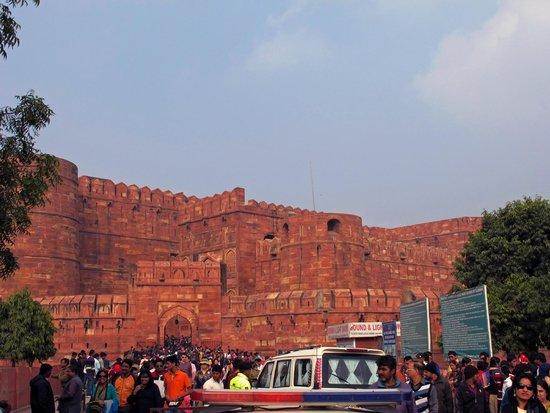 Agra Fort: Агра, Красный форт