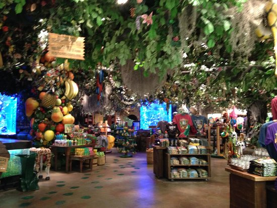 Rainforest Cafe Downtown Disney Store