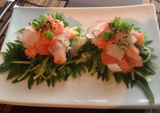 Hoku: Delicious fish tartare