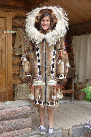 Riverboat Discovery : Native Alaskan costume