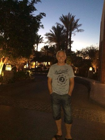 The Grand Hotel Sharm El Sheikh: Going home