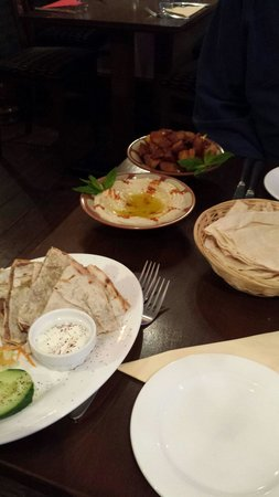 Rowsha: Hot and cold meze starter