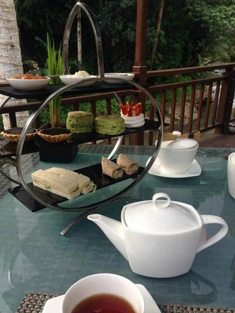 The Samaya Bali Ubud: afternoon tea