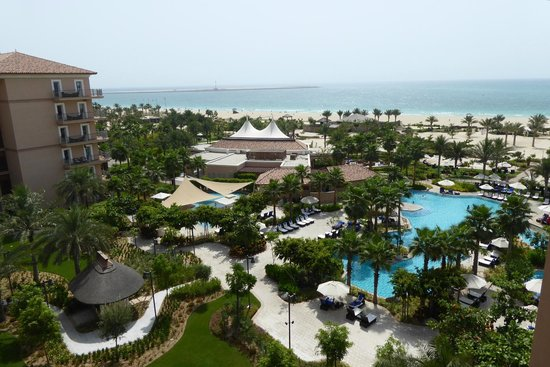 The Ritz-Carlton, Dubai : Ausblick vom Zimmer