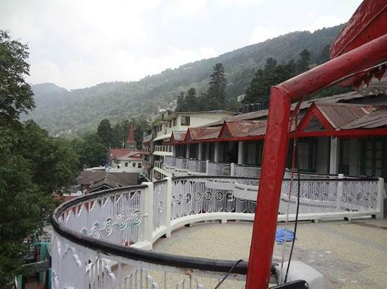 Elphinstone Hotel: View from room