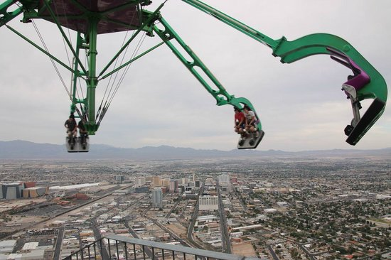 Stratosphere Tower: Hanging above Sin City