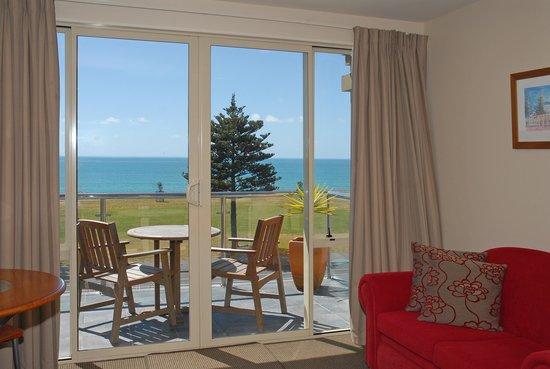 Pebble Beach Motor Inn: Oceanfront Balcony