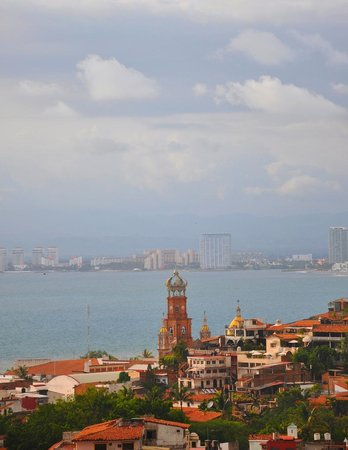 Vista Grill On The Beach: The View of Puerto Vallarta