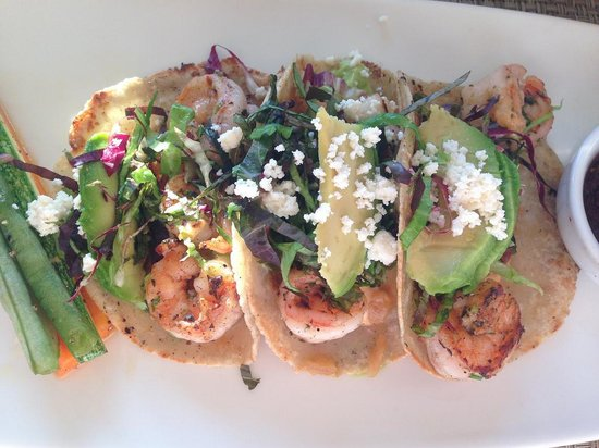 Vista Grill On The Beach: Shrmip Tacos