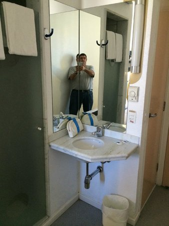 Hotel ibis budget Rio de Janeiro Centro: Bathroom