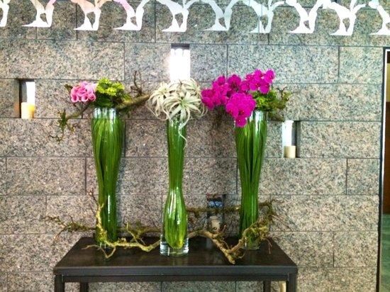 W Boston: lobby flowers