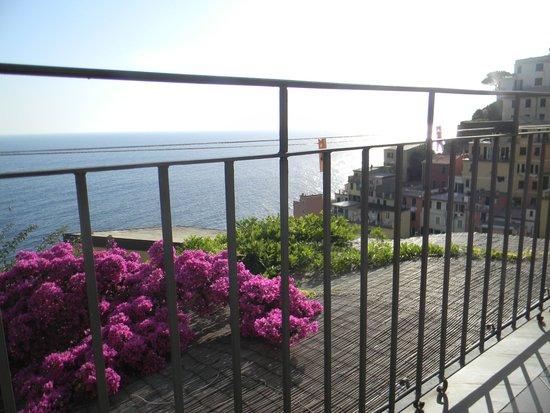 CasaLorenza: Balcony view