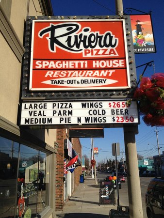 Riviera Pizza & Spaghetti House: 39 years check out our website